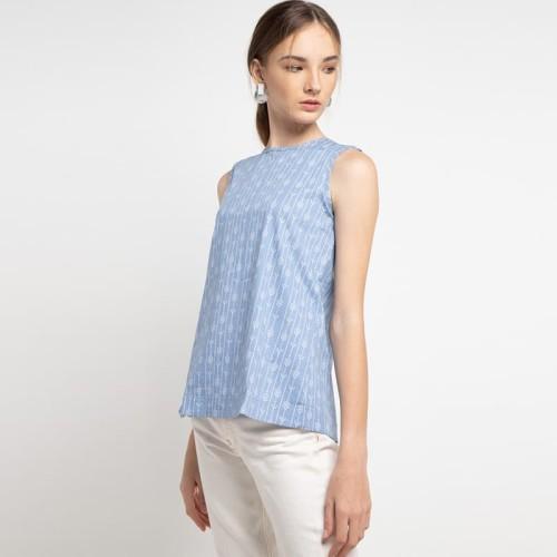 Foto Produk Sophistix Orla Blouse In Blue - M dari Sophistix Official Store