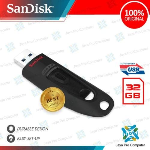Foto Produk Sandisk Ultra Flair CZ48 32GB - Flash Disk/ Flashdisk 32 GB 3.0 dari Jaya Pro Computer