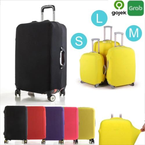 Foto Produk Sarung Koper | Cover Koper Travel Dustproof Elastis Fit luggage - Small Merah dari toko25jam