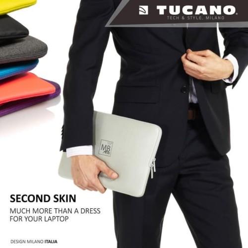 Foto Produk Ternama Tucano Sleeve For Macbook 13 Second Skin Elements Blue dari Markus Sutiono