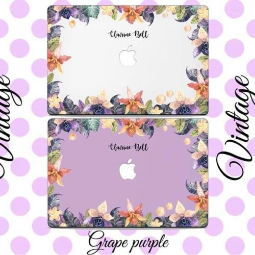 Foto Produk Paling Terlaris Dijual Case Macbook Case Custom Grape Purple New Air dari Markus Sutiono