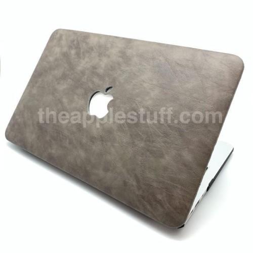Foto Produk Paling Terlaku Macbook Case Leather Grey Lariss Terbaik dari Markus Sutiono