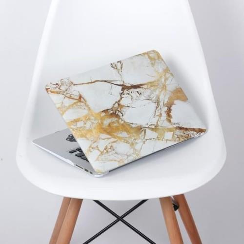Foto Produk Terlaris Dijual Case Macbook Air 13 Inch White Yellow Marble Terlaris dari Markus Sutiono
