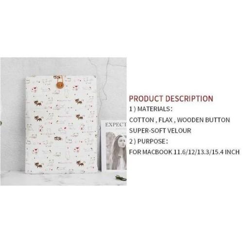 Foto Produk Paling Terlaris Linen Sleeve Macbook Air Pro Ombg55Bl Terlaku dari Markus Sutiono