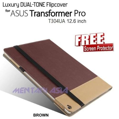 Foto Produk Dijual Flipcover Asus Transformer Pro T304Ua - Luxury Dual Tone - Free dari Markus Sutiono