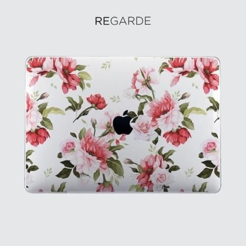 Foto Produk Terhot Pinky Floral Macbook Case Pro Air Retina Touchbar 11 13 15 dari Markus Sutiono