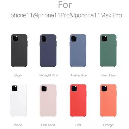 Foto Produk Iphone 11 / 11 Pro / 11 Pro Max Silicone Cover Original dari factory acc