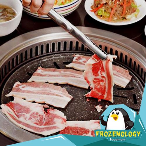 Foto Produk (250gr) Beef Belly Beef Samgyeopsal - BEEF BELLY ONLY dari frozenology