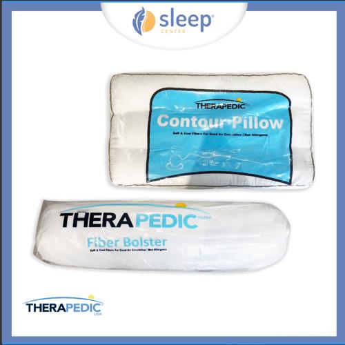 Foto Produk SLEEP CENTER Therapedic Contour Pillow & Fiber Bolster dari SLEEP CENTER