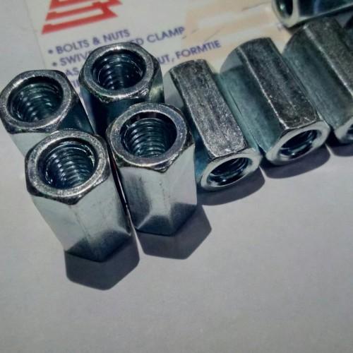 Foto Produk long nut m8 / mur panjang m8 dari jaya sentosa 164