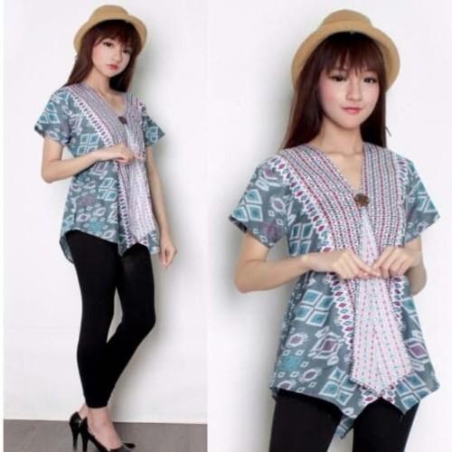 Foto Produk Atasan Blouse Kartini Kanari Kemeja Batik Wanita - Slide 1 dari holy Beauty