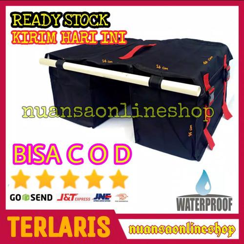 Foto Produk Tas Obrok Pos Kurir Motor Kargo Waterproof dari Nuansa Online Shop