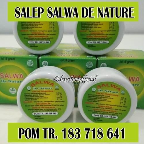 Foto Produk Salep Salwa De Nature Herbal Untuk Wasir, Fistula Ani, & Ambeien dari De Nature Official Acoun