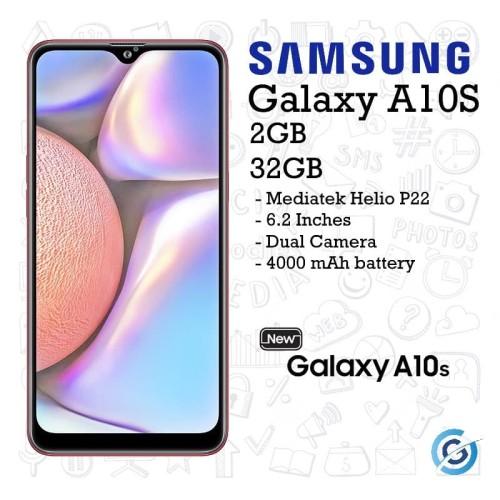 Foto Produk Samsung Galaxy A10s 2/32 2GB 32GB Garansi Resmi SEIN - Merah dari Garasi.ku