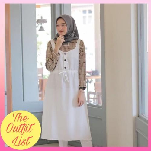 Foto Produk TALITA TUNIK 2IN1 SET MUSLIM |BAJU ATASAN WANITA MUSLIM TUNIK REMAJA - Merah Muda dari The Outfit List
