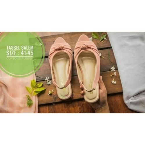 Foto Produk PAWPAWSHOES SOL RUBBER Sepatu sandal bigsize kode tassel salem size 41 dari Dinasti Shoes