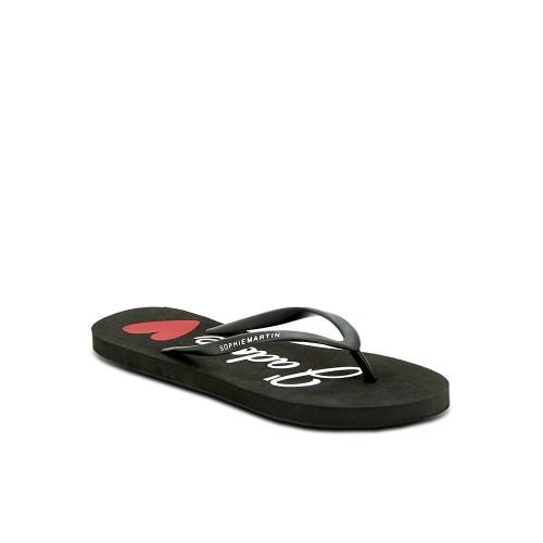 Foto Produk Sophie Paris Sandal Wanita Amber Eva Sandal Black L-F1542B5L dari Dinasti Shoes