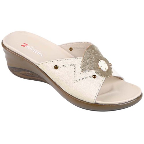 Foto Produk SANDAL WANITA ZEINTIN WR 5723 CREAM dari Dinasti Shoes