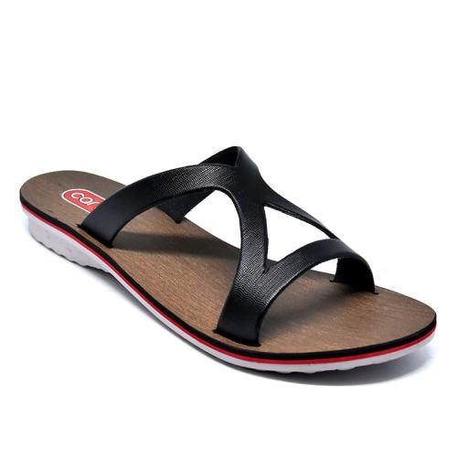 Foto Produk Carvil Sandal Wanita Andien-01 Black dari Dinasti Shoes