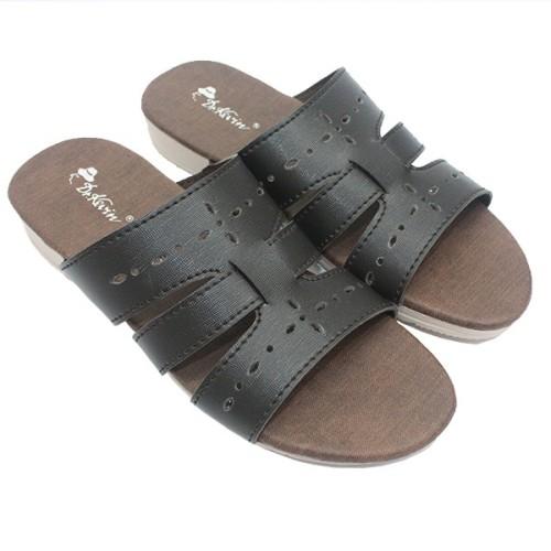 Foto Produk Dr. Kevin Women Sandals 57020 - Brown dari Dinasti Shoes
