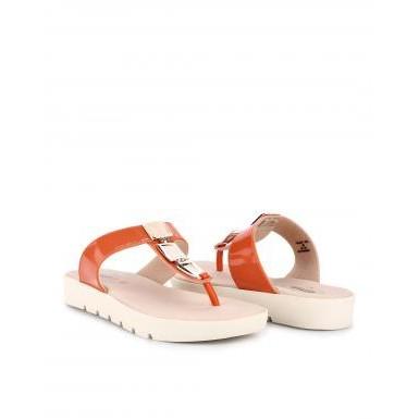 Foto Produk Sandal Casual Wanita Carvil GLAZY 05L Orange dari Dinasti Shoes