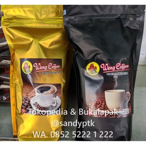 Foto Produk Bubuk Kopi Weng Coffee Premium Robusta Arabica Legendaris Siantan - Robusta dari SANDYPTK