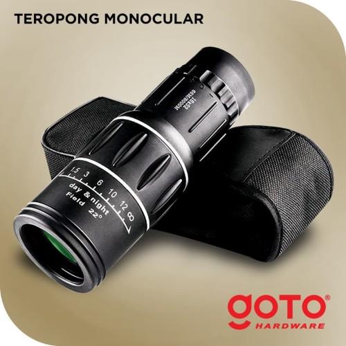Foto Produk Teropong Monocular Fokus Zoom Lens Bushnell dari GOTO Hardware