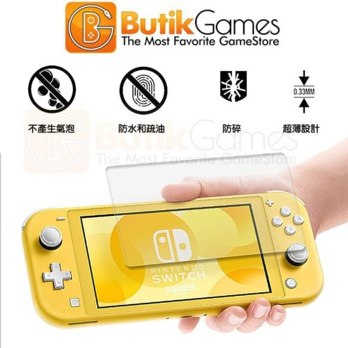 Foto Produk Tempered Glass Nintendo Switch Lite Anti Gores Screen Protector Switch dari Butikgames
