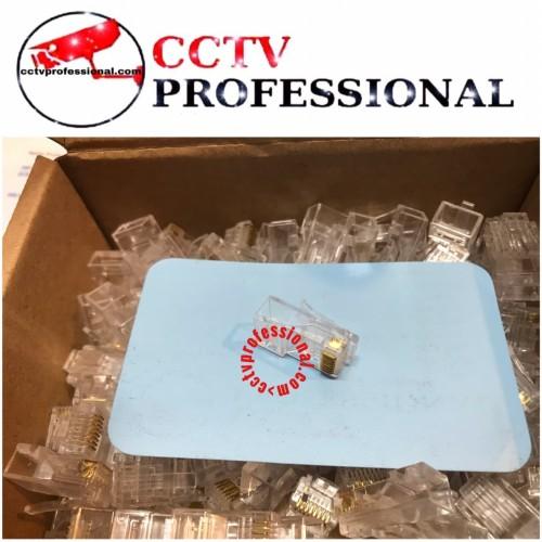 Foto Produk JEK RJ 45 LAN CAT5E dari cctv professional
