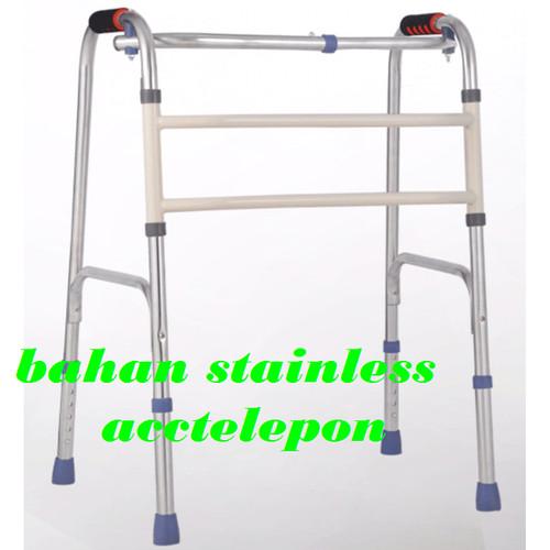 Foto Produk Walker tanpa roda/alat bantu jalan/tongkat bantu kaki dari acctelpon