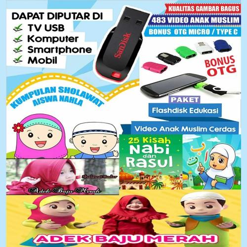 Foto Produk Flashdisk 16gb video edukasi anak islami dari A. Shop