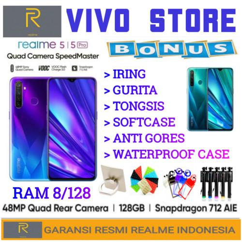 Foto Produk REALME 5 PRO RAM 8/128 GARANSI RESMI REALME INDONESIA - SPARKLING BLUE dari VIVO ST0RE