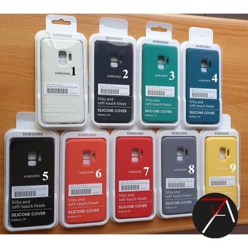 Foto Produk Samsung S9 Silicone Full Cover Soft Case Silikon Casing Original dari 17 Agustus