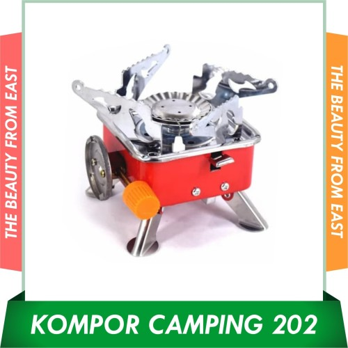 Foto Produk Kompor Kembang XF 202 Portable Stove Camping LienHua TBE Portabel item dari T.B.E