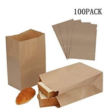 Foto Produk PAPER BAG SIZE M - MEDIUM - FRIED CHICKEN - KANTONG KERTAS ROTI -BROWN dari BCA PACK