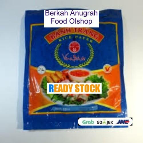 Foto Produk KULIT LUMPIA VIETNAM RICE PAPER 22Cm isi 15lembar kemasan repacking dari BerkahAnugrah foodOlshop