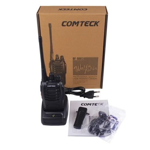 Foto Produk [Promo] HT Handy Talkie Walkie Talkie Radio Comteck BF-888S / BF888S dari Satria Technology