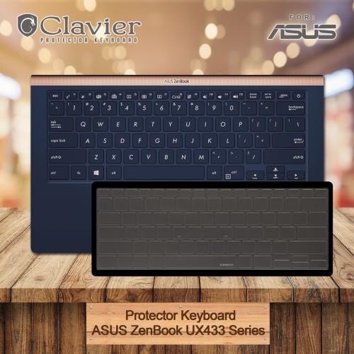 Foto Produk Keyboard Protector Cover Asus Zenbook 14 UX433FN-A5811T UX433FN-A5812T dari Clavier