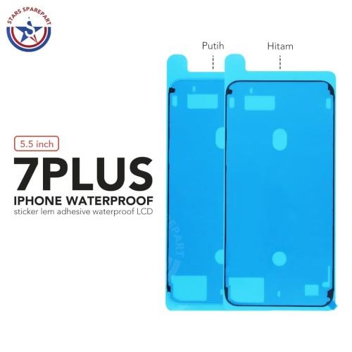 Foto Produk Sticker Lem Adhesive Waterproof LCD Iphone 7 Plus Original - Putih dari Stars Sparepart
