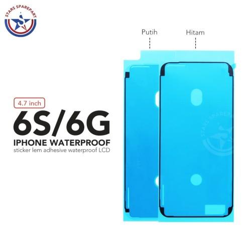 Foto Produk Sticker Lem Adhesive Waterproof LCD Iphone 6S Original - Hitam dari Stars Sparepart