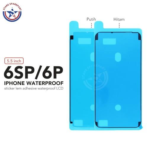 Foto Produk Sticker Lem Adhesive Waterproof LCD Iphone 6S Plus Original - Putih dari Stars Sparepart