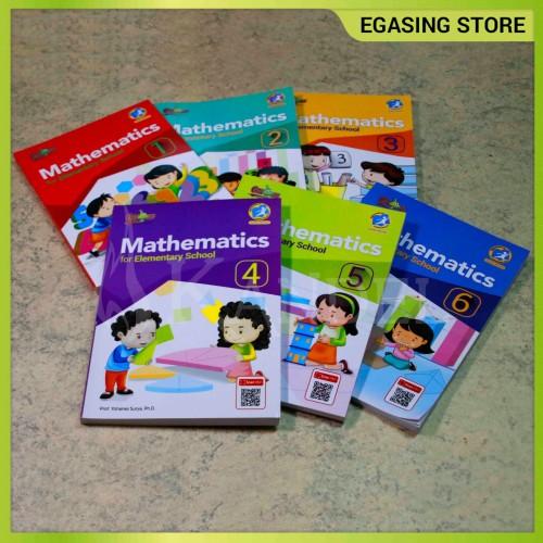 Foto Produk Buku Mathematics for Elementary School 1-6 (K13) 6 Jilid dari EGASING STORE