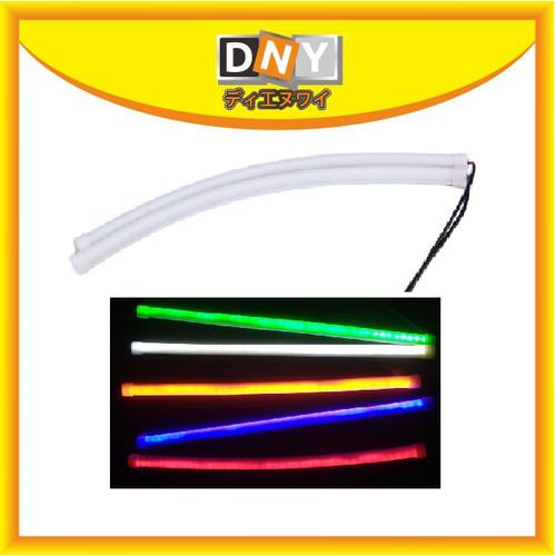 Foto Produk LED DRL FLEXIBLE / ALIS LAMPU ANGEL EYE 30 CM MOBIL DAN MOTOR - Putih dari DNY Official Store