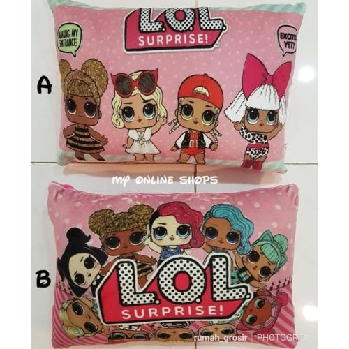 Foto Produk Bantal Boneka LOL Lucu Persegi dari Ada Toko Disini Ya