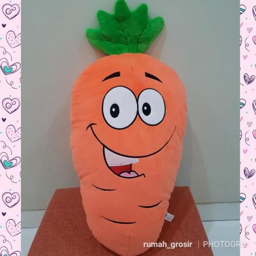 Foto Produk Bantal Boneka Wortel Sayuran Carrot dari Ada Toko Disini Ya