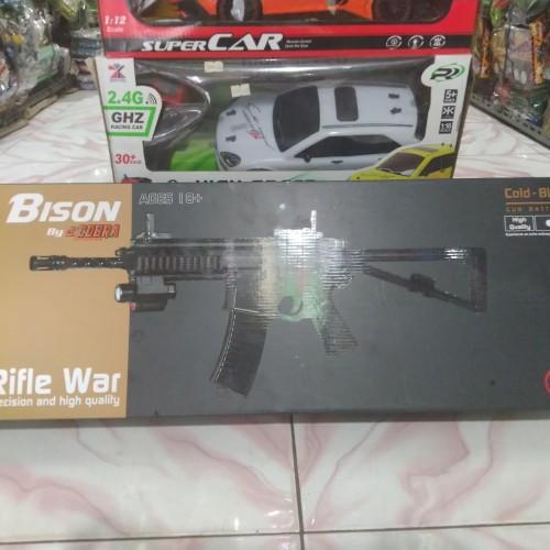 Foto Produk Bison KAC PDW by Dcobra - Airsoft Spring - Rifle War - Dcobra M301 dari Bang izal Toys