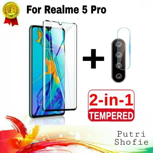 Foto Produk Tempered Glass Lensa Camera + Tg Anti Gores Oppo Realme 5 Pro dari Putri Shofie