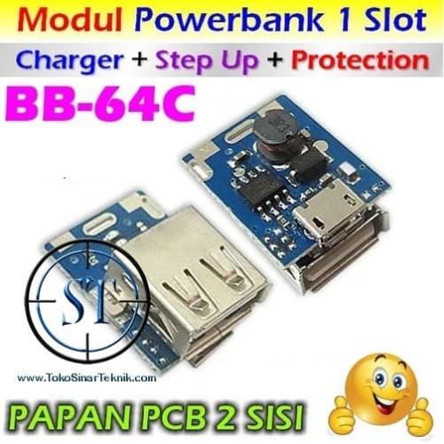 Foto Produk Kit 3-in-1 Power Bank 1.3A ( Step Up + Charging + Protection ) BB-64C dari SinarTeknik