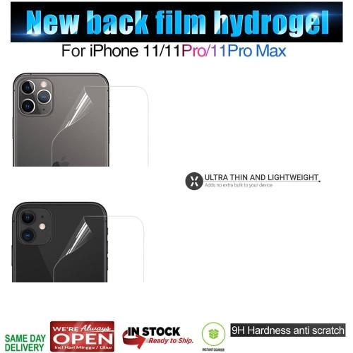 Foto Produk iPhone 11 / 11 Pro / 11 Pro Max Hydrogel Back Protector ( Antigores ) - iPhone 11ProMax dari Spigen Indonesia