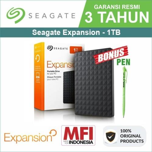 "Foto Produk Seagate Expansion 1TB - HDD / HD / Hardisk / Harddisk External 2,5"" dari Trinity Plaza"